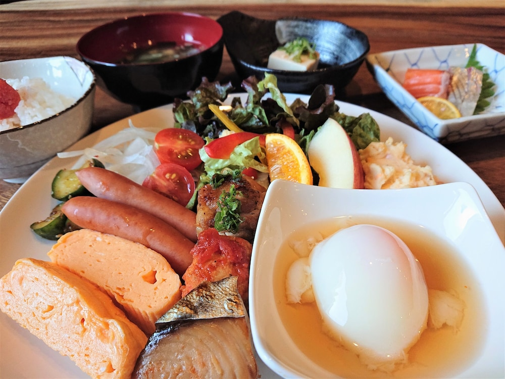Breakfast buffet, Green Rich Hotel Kurashiki Ekimae