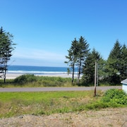 Secluded Pacific Ocean Front Home Located in Neah Bay, WA