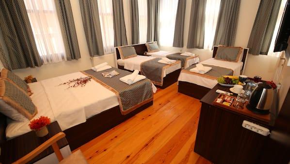 Hochwertige Bettwaren, Select-Comfort-Betten, Minibar