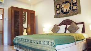 17 chambres, coffres-forts dans les chambres, Wi-Fi, draps fournis
