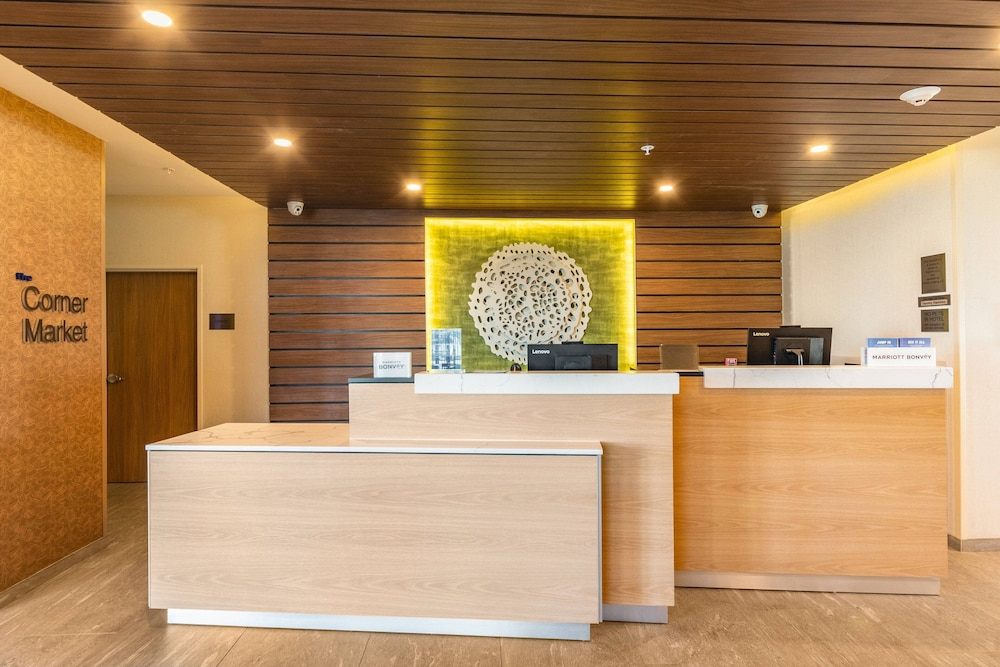 Lobby, Fairfield Inn & Suites by Marriott Corpus Christi Central