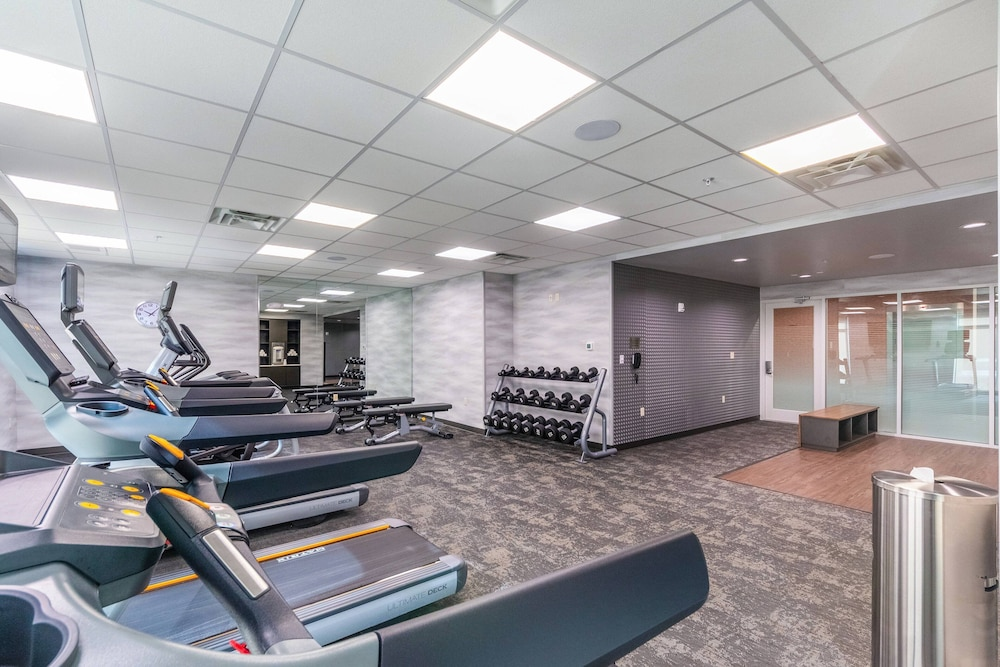 Fitness Facility, Fairfield Inn & Suites by Marriott Corpus Christi Central