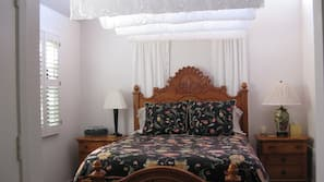 1 bedroom, down comforters, Select Comfort beds, individually decorated