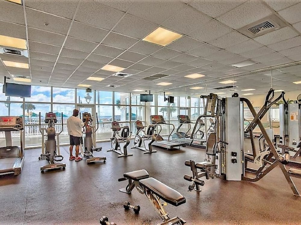 Fitness Facility, Majestic Sun Beach Resort by Panhandle Getaways