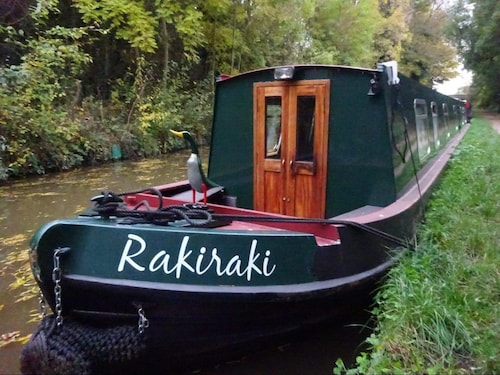 Narrowboat - Sleeps 10 - Raki Raki - 69ft