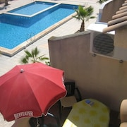 Bungalow 2 Floors, Solarium and Barbecue, Urbanization With Swimming Pool, Next to the sea
