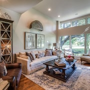 Luxury Golf Course View Town Home in North Dallas