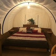 Glamping Back in Time