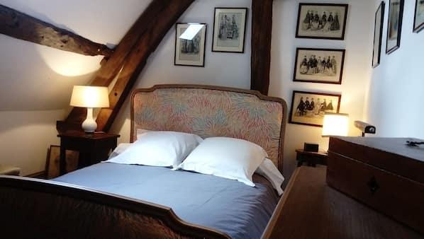 1 chambre, Wi-Fi, draps fournis