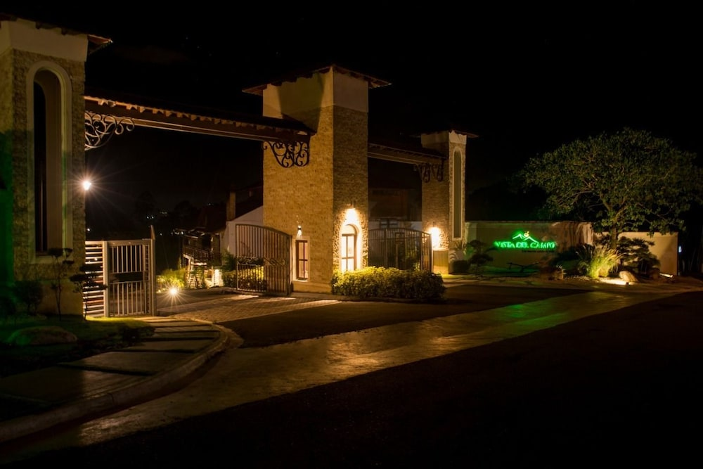 Front of Property - Evening/Night, Vista del Campo