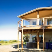Stunning Views and Sunsets From This Beach House Located in Beverly Beach