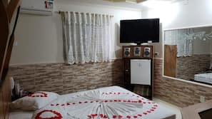 Minibar, gratis wi-fi, sängkläder och rullstolsanpassning