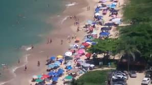 Beach nearby, 4 beach bars