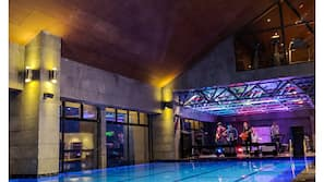 Indoor pool, open 8:00 AM to 8:00 PM, free pool cabanas