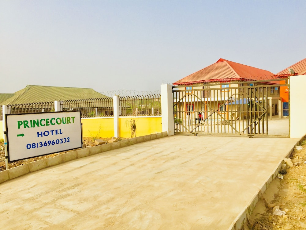 Property Entrance, Princecourt Hotel Osogbo