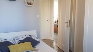 1 chambre, fer et planche à repasser, Wi-Fi, draps fournis