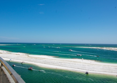 Emerald Grande Remodeled 4 Br/4ba Corner??wraparound Balcony Gulf Views