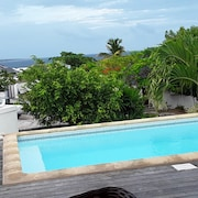 Villa With 3 Bedrooms in Saint Martin, With Private Pool, Enclosed Garden and Wifi - 2 km From the Beach
