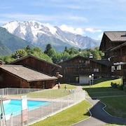 Apartment With one Bedroom in Saint-gervais-les-bains, With Wonderful Mountain View, Private Pool, Balcony