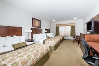 Room, Non Smoking, Refrigerator & Microwave (3 Queen Beds)