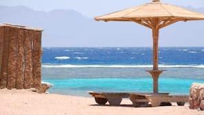 Praia particular, prática de mergulho autônomo