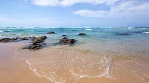 Aan het strand, strandlakens, duiken