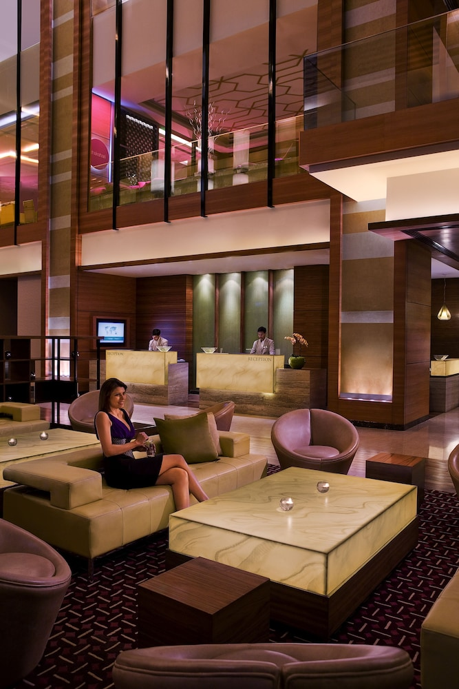 Lobby Lounge, Courtyard by Marriott Ahmedabad