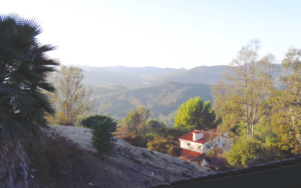 View from Property, Topanga Canyon Inn Bed and Breakfast