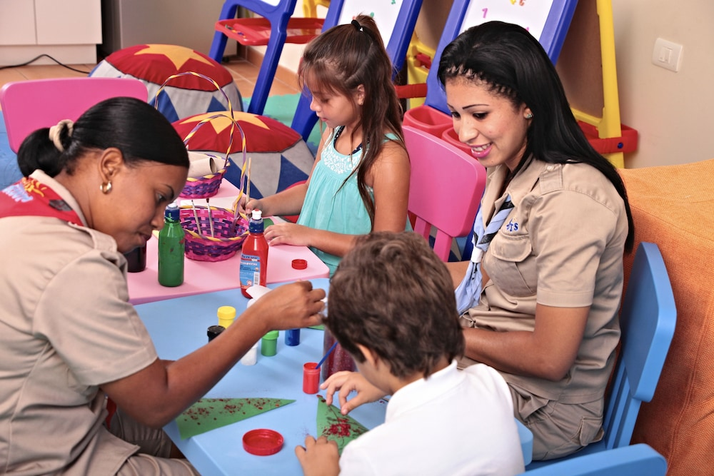 Children's Play Area - Indoor, Bahia Principe Grand Bavaro - All Inclusive