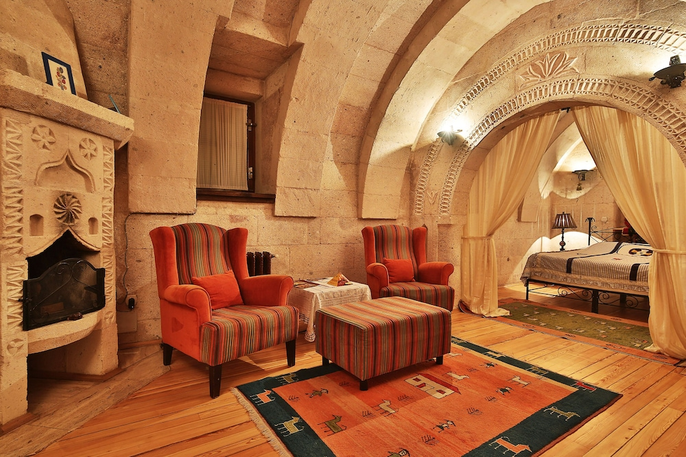 Living Area, Cappadocia Cave Suites Boutique Hotel - Special Class