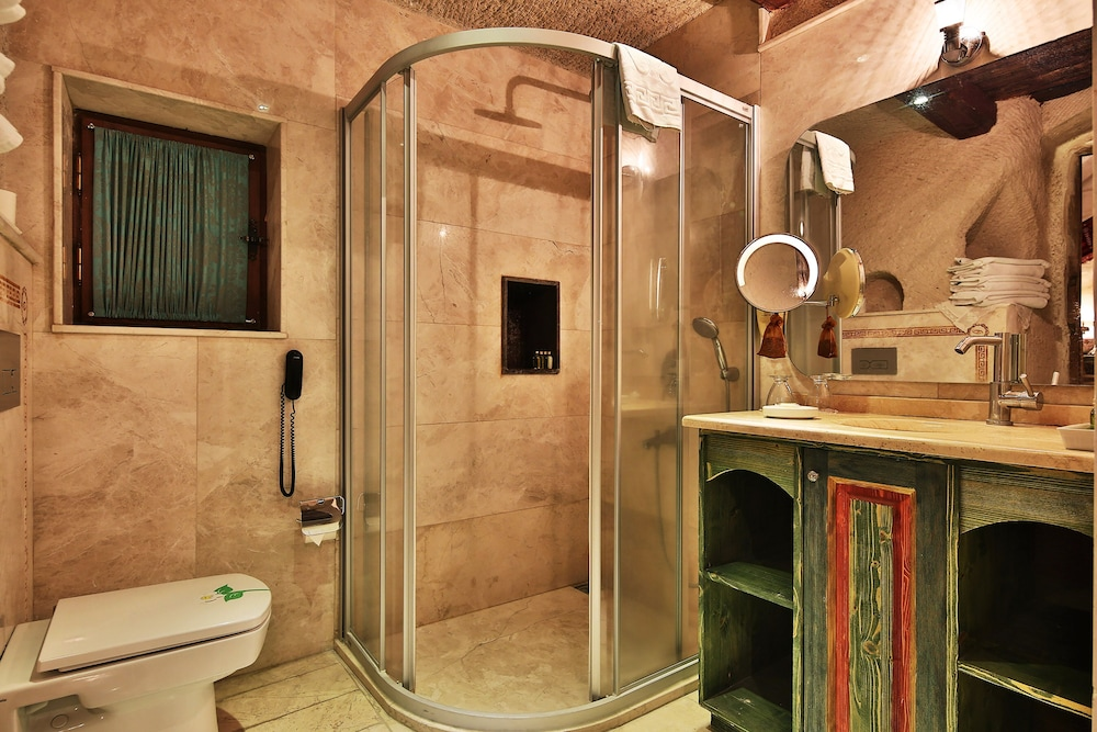 Bathroom Shower, Cappadocia Cave Suites Boutique Hotel - Special Class