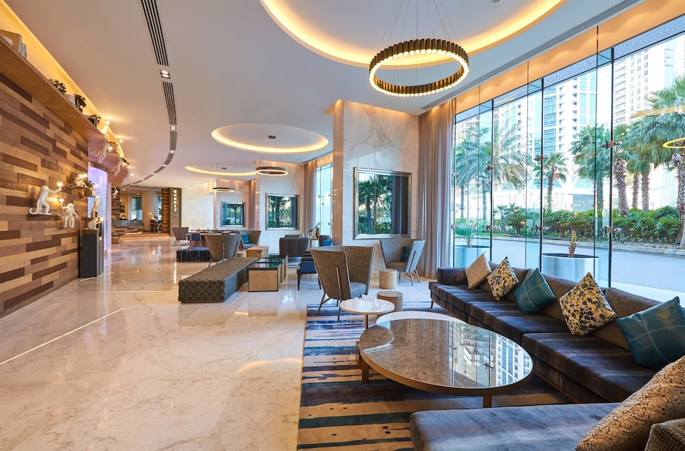 Lobby, Media One Hotel Dubai