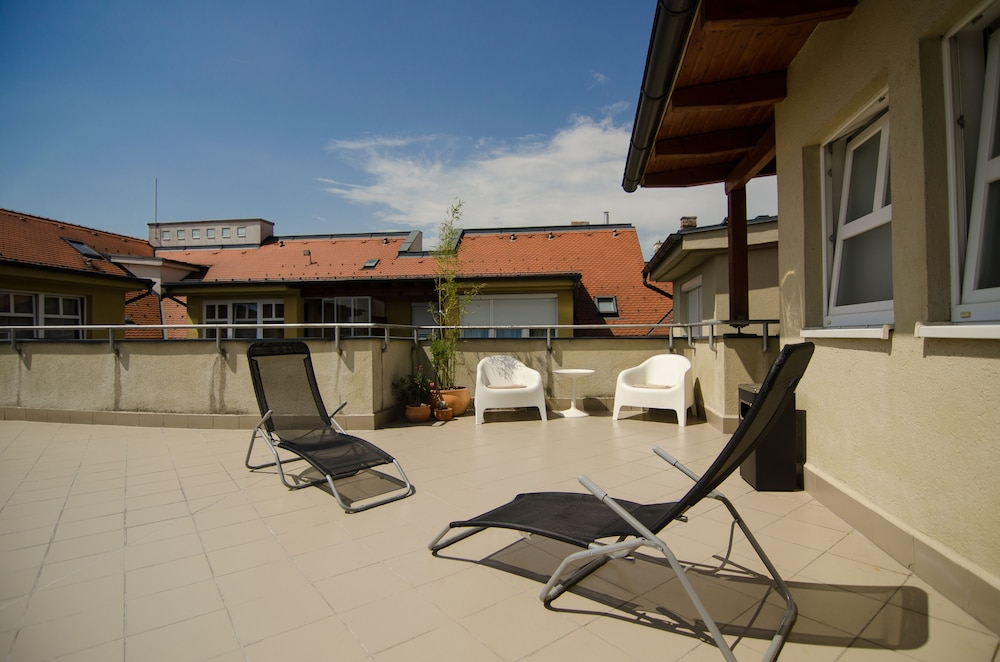 Terrace/Patio, Civitas Boutique Hotel Sopron