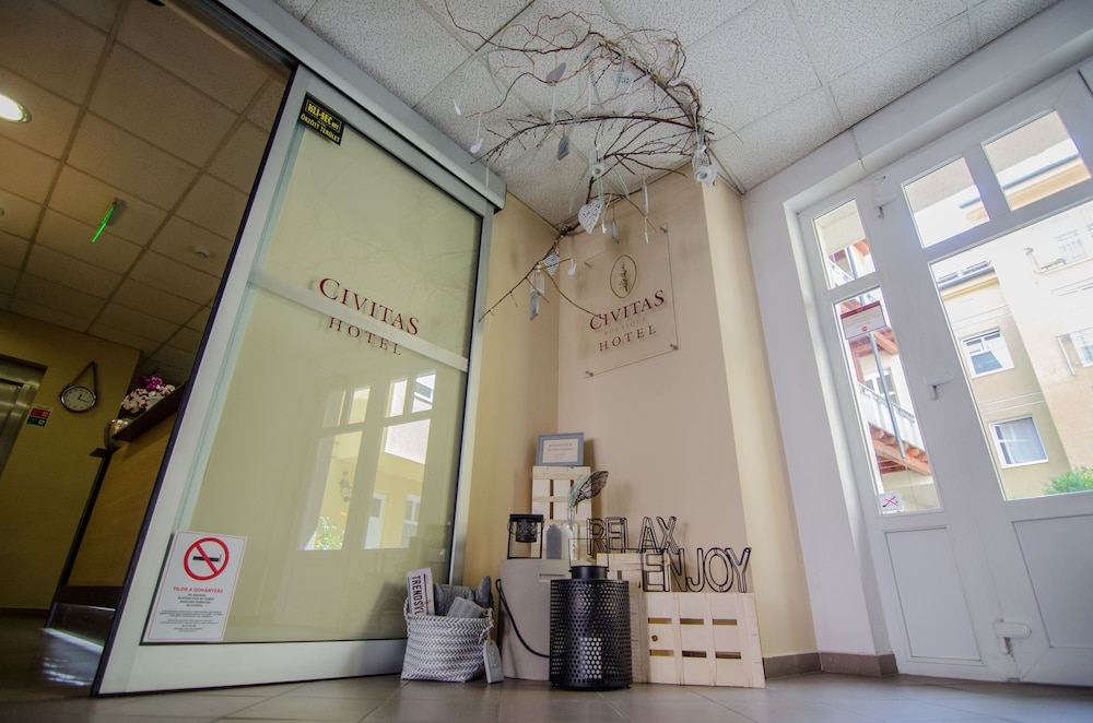Interior Entrance, Civitas Boutique Hotel Sopron
