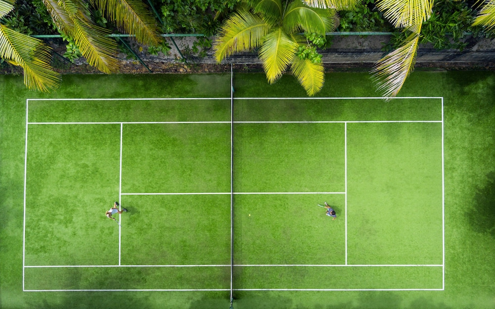 Tennis Court, Matamanoa Island Resort