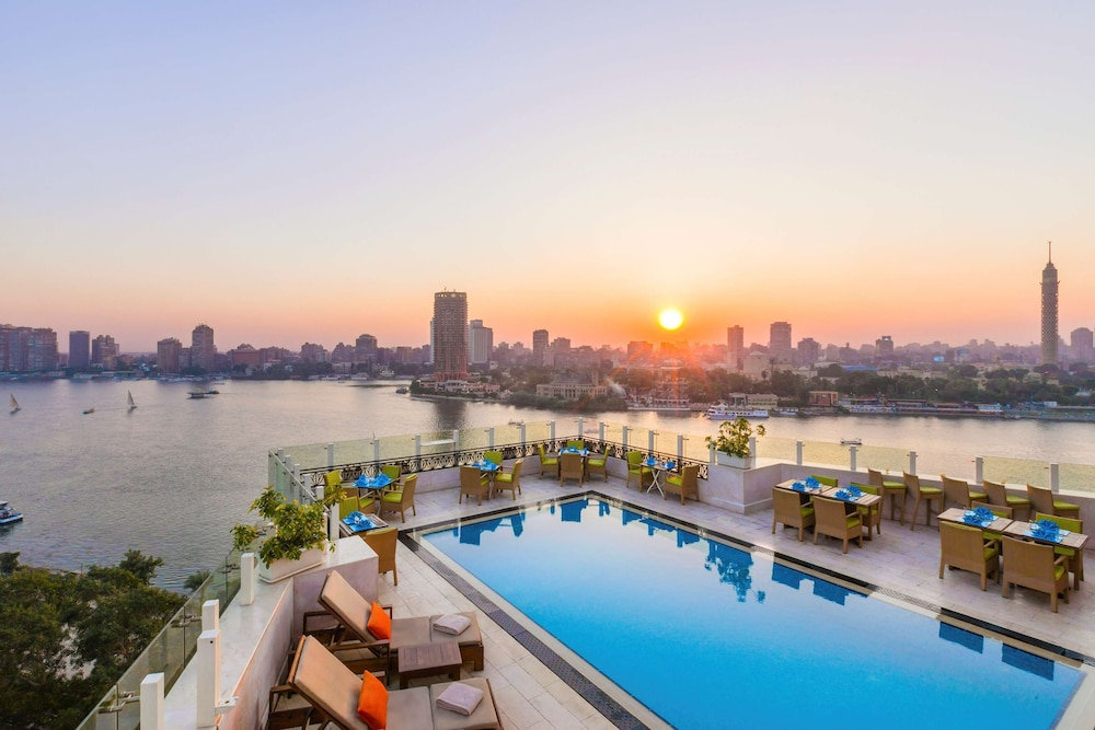 Outdoor Pool, Kempinski Nile Hotel Cairo
