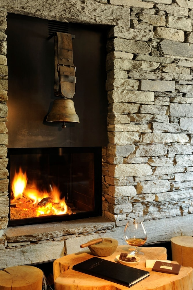 Fireplace, La Val Hotel & Spa