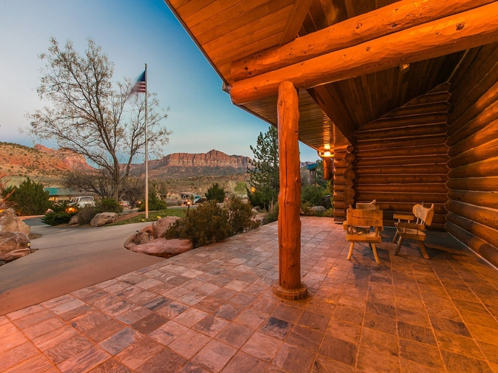 Terrace/Patio, Majestic View Lodge at Zion National Park