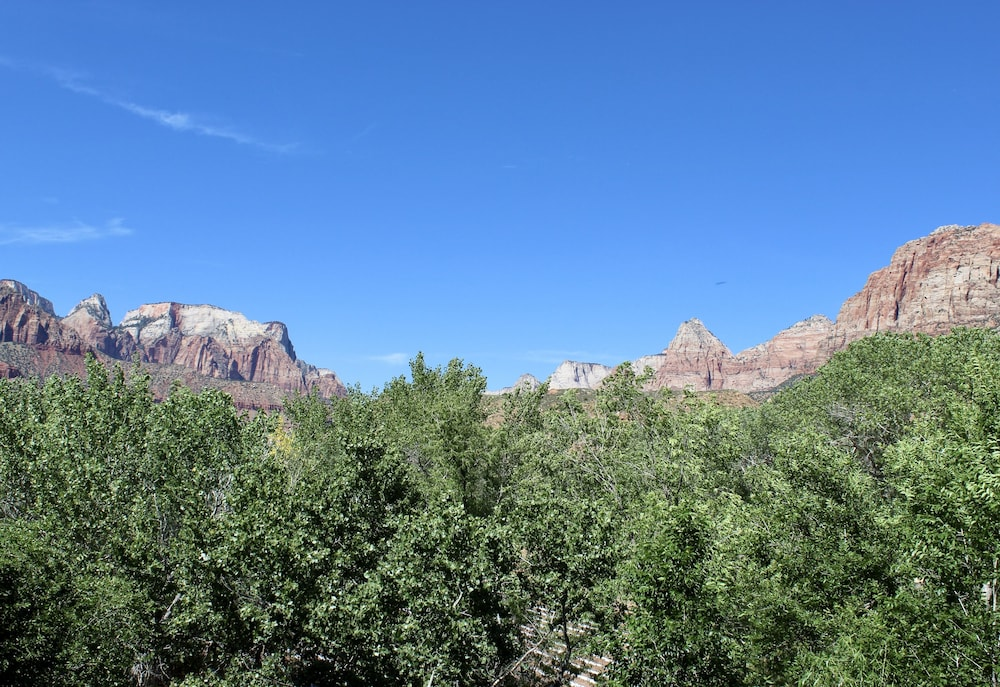 View from Room, Majestic View Lodge at Zion National Park