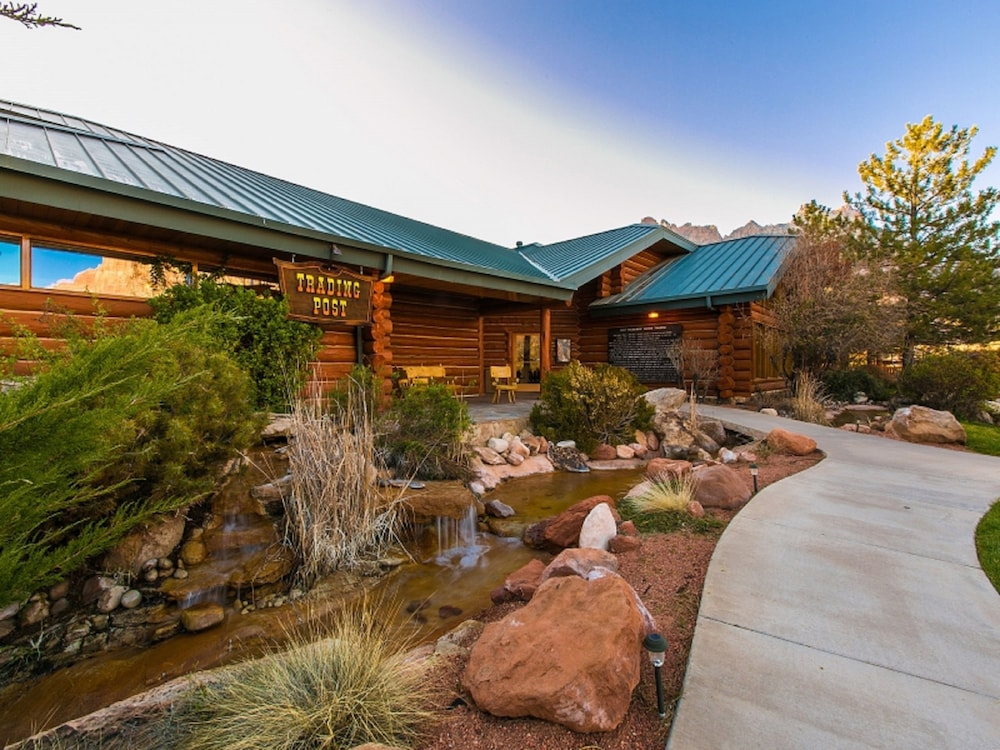 Property Entrance, Majestic View Lodge at Zion National Park