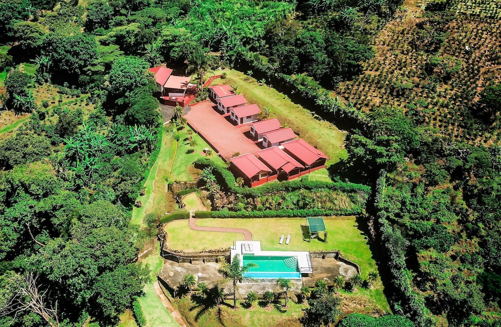 Aerial View, Hotel Mango Valley