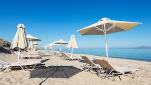 Plage à proximité, beach-volley, bar de plage