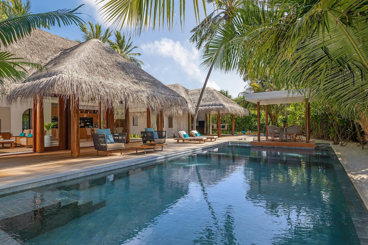 Anantara Kihavah Maldives Villas - Four Bedroom Beach Pool Residence