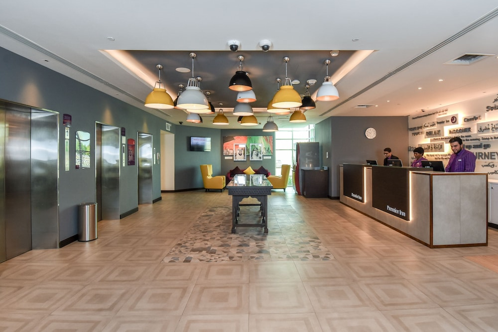Interior Entrance, Premier Inn Dubai Silicon Oasis