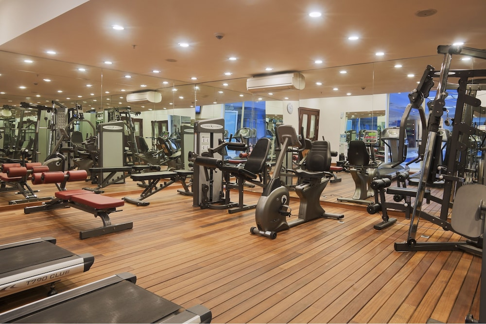 Fitness Facility, Crowne Plaza Hotel Antalya