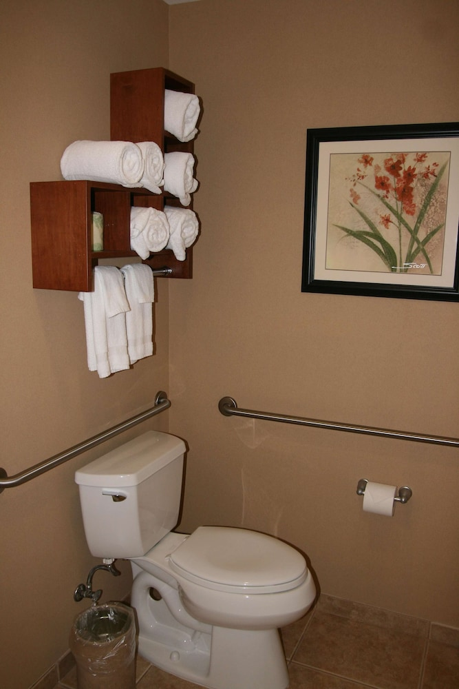 Bathroom, Hampton Inn and Suites Folsom