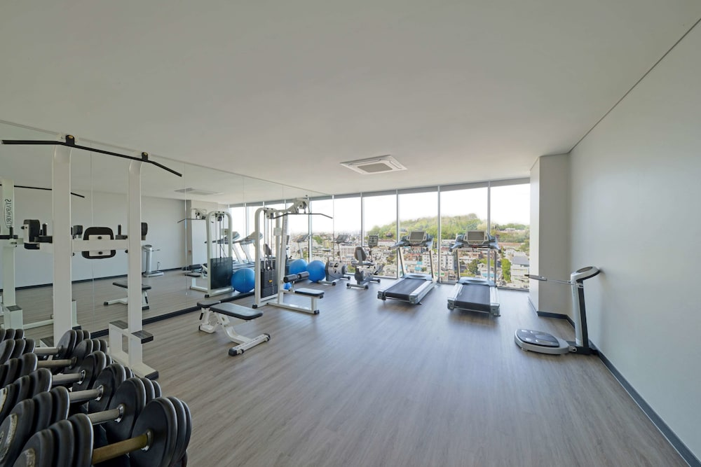 Fitness Facility, Best Western Harbor Park Hotel