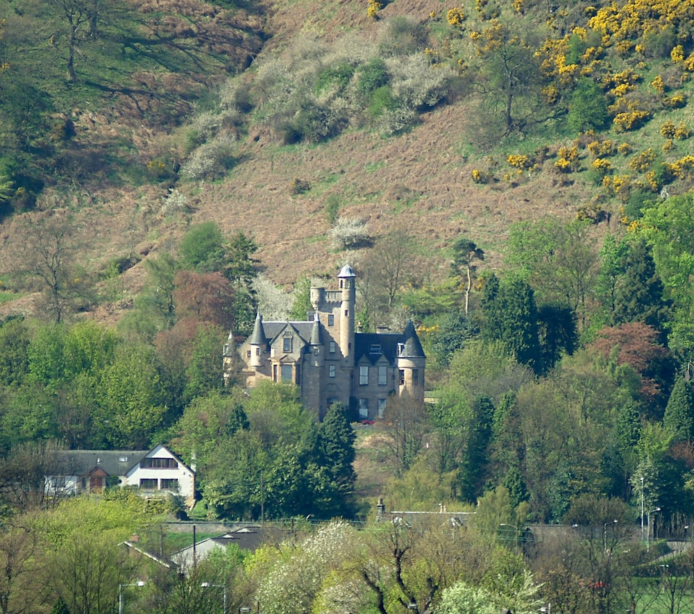 Aerial View, Broomhall Castle