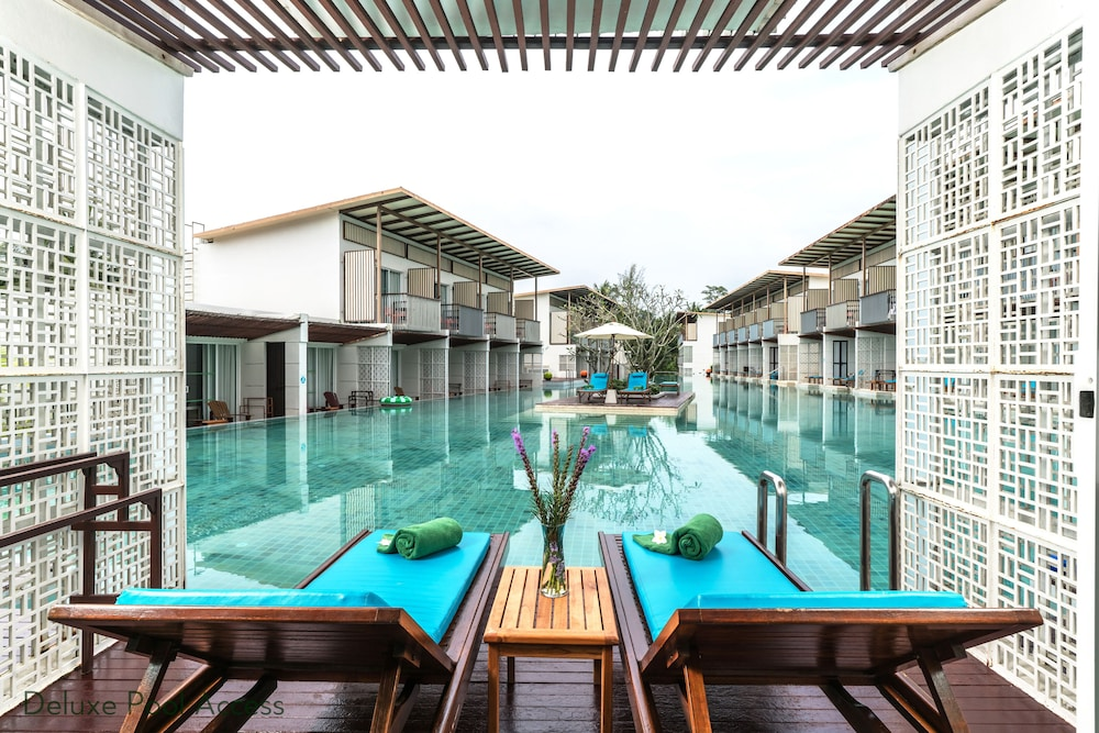 Terrace/Patio, The Briza Beach Resort Khaolak