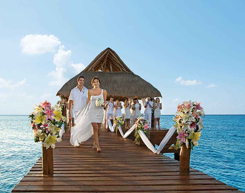 Outdoor Wedding Area, Secrets St. James Montego Bay - Luxury – All Inclusive
